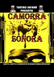 CAMORRA SONORA - LOCANDINA